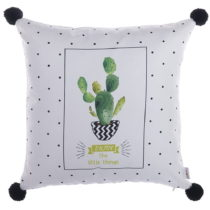 Obliečka na vankúš Apolena PomPom Cactus, 43×&#x...