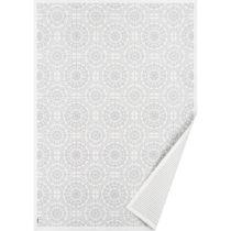 Biely vzorovaný obojstranný koberec Narma Raadi, 250×...
