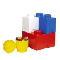 Sada 4 úložných boxov LEGO® Multi-Pack