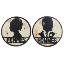 Cedulky na toalety Antic Line Femmes/Hommes