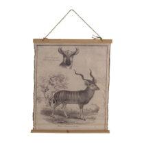 Plagát na bavlnenom plátne Geese Antilope