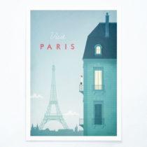Plagát Travelposter Paris, A3