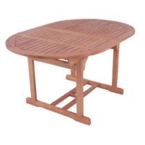 Záhradný rozkladací stôl z eukalyptového dreva ADDU Bos...