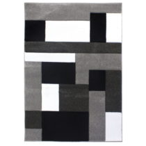 Čierno-sivý koberec Flair Rugs Cosmos Black Grey, 80×&#xA0...