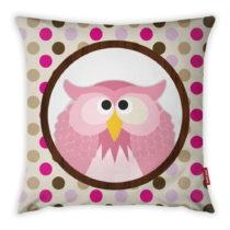 Obliečka na vankúš Vitaus Rose Owl, 43×43 ...