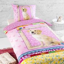 Bavlnené detské posteľné obliečky na jednolô...
