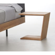 Nočný stôl z olejovaného dubového dreva Mazzivo Alpha