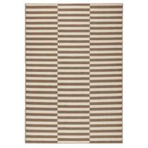 Béžovo-biely koberec Hanse Home Gloria Panel, 80 x 200 cm