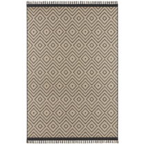 Béžovo-čierny koberec Hanse Home Intense Sulo, 160 x 230 cm