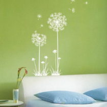 Sada samolepiek Ambiance Dandelion Flowers Stickers