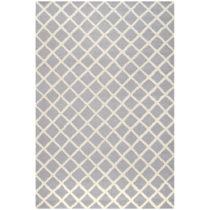 Sivý vlnený koberec Sophie Light Blue Grey, 152×243 c...