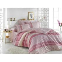 Bavlnené obliečky na jednolôžko Emma Pink, 160&#...