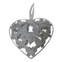 Závesné dekoratívne srdce Antic Line Romance