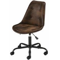 Hnedá kancelárska stolička na kolieskach Støraa Dennis