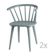 Sada 2 mentolovozelených jedálenských stoličiek sømcas...