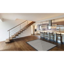 Čierny vysokoodolný koberec vhodný do exteriéru Floorita Chrome...