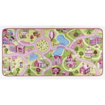 Detský koberec s ružovými detailmi Hanse Home City, 200&#x...