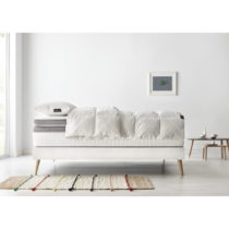 Set dvojlôžkovej postele, matraca a paplóna Bobochic Paris Bobo, 90&...