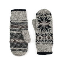 Sivé rukavice Jerome