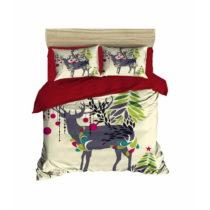 Sada obliečky a plachty na dvojposteľ Christmas Reindeer, 200&#xD7...