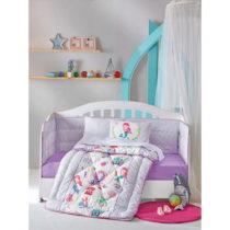 Detské obliečky z bavlny Cutie Friends, 120 × 150 cm