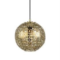 Závesné svietidlo v zlatej farbe Markslöjd Indigo, ⌀...