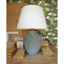 Keramická stolová lampa Orchidea Milano Saint Tropes Greenish Grey, ⌀ 5...