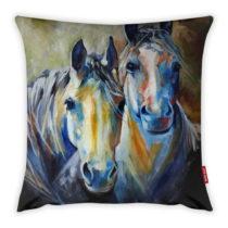 Obliečka na vankúš Vitaus Horses Art, 43×4...