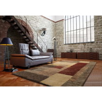 Hnedý koberec Universal Delta, 57 × 110 cm
