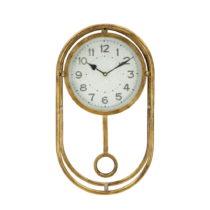 Nástenné hodiny v zlatej farbe Mauro Ferretti Muro