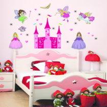 Samolepka Ambiance Princess Castle