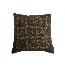 Sivý vankúš Dutchbone Indian, 50×50 cm