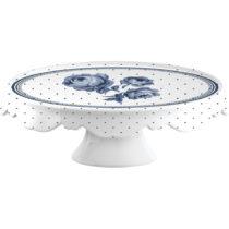 Porcelánový tanier na torty Creative Tops Vintage Indigo, ⌀25...
