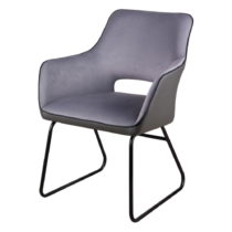 Sivá stolička sømcasa Delia