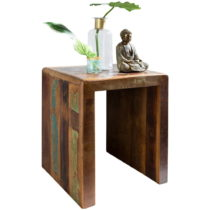 Odkladací stolík z recyklovaného mangového dreva Skyport KALKUTT...