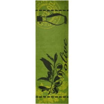 Zelený kuchynský behúň Zala Living Olive, 50&#xD7...