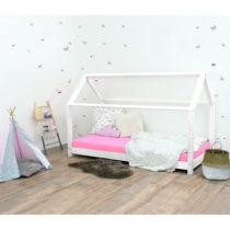 Biela detská posteľ bez bočníc zo smrekového dreva Be...