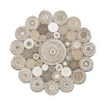 Jutový okrúhly koberec Eco Rugs Elsa, Ø 120 cm