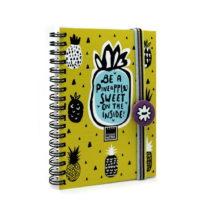 Zelený zápisník Makenotes Sweet Pineapple, A6