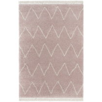 Ružový koberec Mint Rugs Rotonno, 80 x 150 cm