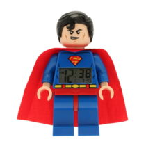 Hodiny s budíkom LEGO® Super Heroes Superman