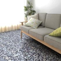 Samolepka na podlahu Ambiance Slab Stickers Pebble, 30×30 cm