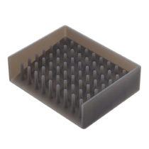 Čierna podložka pod mydlo YAMAZAKI Float