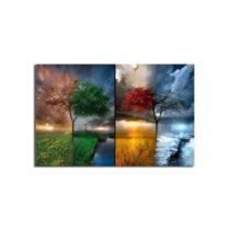 Obraz na plátne Seasons, 70×45 cm