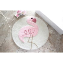Kúpeľňová predložka Pink Flamingo, Ø&#x...
