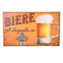 Nástenná ceduľa Antic Line Biere