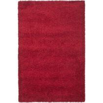 Koberec Crosby Shag Red, 121×182 cm