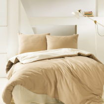 Bavlnené obliečky na jednolôžko Suzy Camel, 160&...
