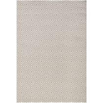 Sivý koberec vhodný aj do exteriéru Karo, 200×&#xA...