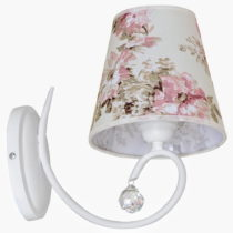 Biele nástenné svietidlo Glimte Sconce Arbo II Uno
